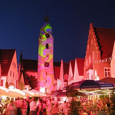 Illumination Stadt Schwandorf