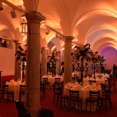20er-Jahre-Show im Schloss zu Thurn und Taxis, Regensburg