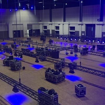 Galashow im Estrel Berlin in der großen Halle mit 100x70m