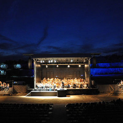 Klassik Open Air im Kalksteinbruch Regensburg