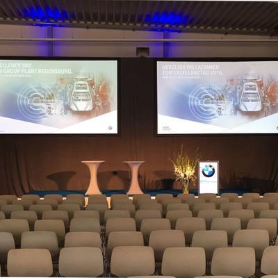 Exzellenztag der BMW AG inkl. Dolmetschertechnik im Werk Regensburg