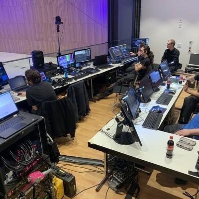Blick auf die Regie Halle NORD Wiesbaden